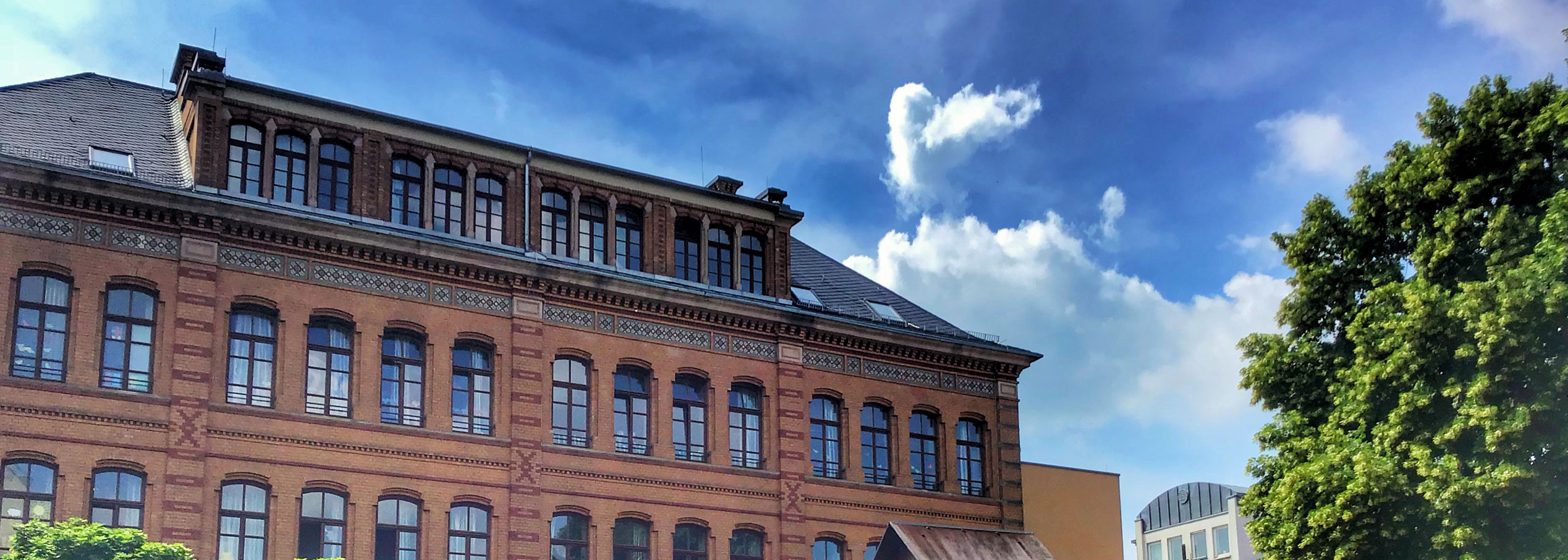 Eisgrubschule Mainz – Das Schulgebäude