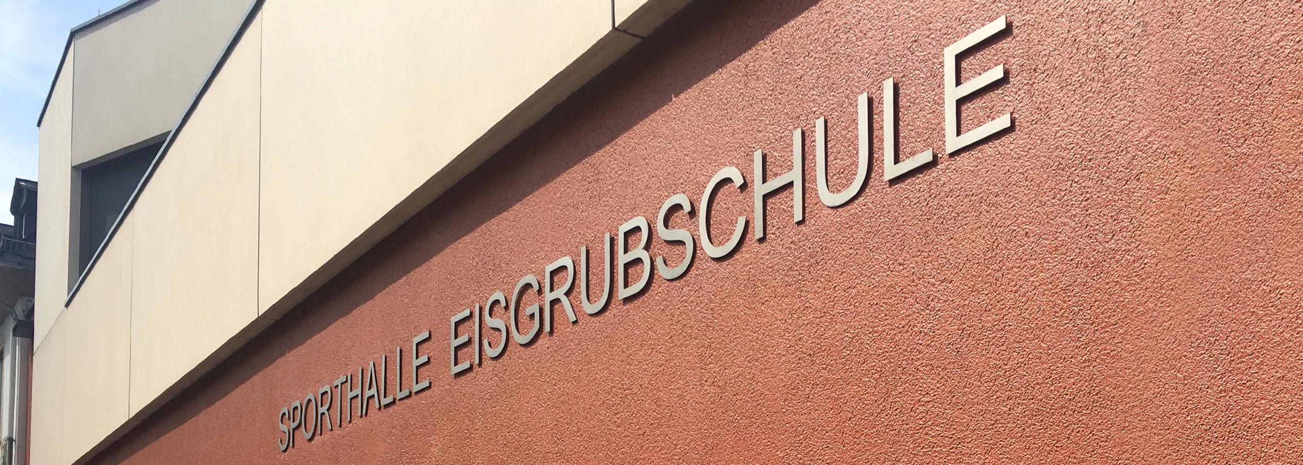 Turnhalle der Eisgrubschule Mainz